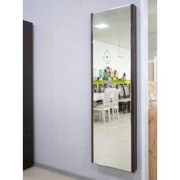 Панель с зеркалом ТД 901.16 со встроенной гладильной доской тип 1 венге цаво