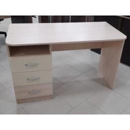 Стол компьютерный Галерея 1200*600*750 дуб млечный/крем