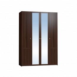 Шерлок 60 спальня Шкаф для одежды и белья  орех шоколадный