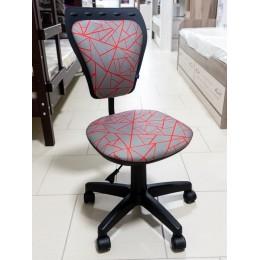 Кресло детское Министайл  GTS PL55  серый/геометрия