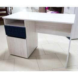 ПОЛО 12 Стол письменный синий геометрия