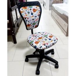 Кресло детское Министайл  GTS PL55  СМ-02 серый