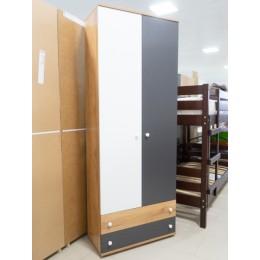 Лойс 92 Шкаф для одежды и белья дуб золотистый/графит/белый