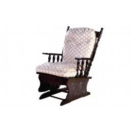 Кресло-качалка Ричард береза орех/жизель серо-коричневый