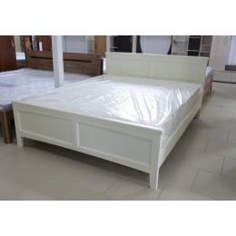Кровать Грация - 4 1600/2000 слоновая кость на ламелях
