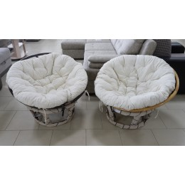 Кресло Папасан кофе (Д100)