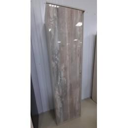 Прихожая Трио шкаф 1ств. 556*400*2000 пикар/бетонпайн глянец