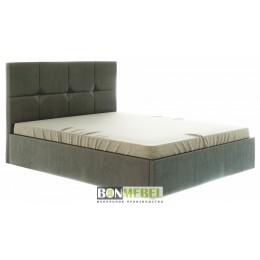 Кровать Куба 1600 с ПМ коричневый