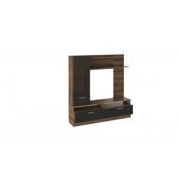 Инфинити ТД-266.03.11 базовая комплектация Набор мебели для общей комнаты (черный, дуб монастырский)