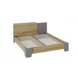 Клео кровать (дуб ривьера/моод темный)