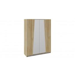 Клео Шкаф комбинированный дуб ривьера/моод темный