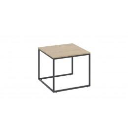 Лофт стол журнальный тип 1 (черный/бунратти)