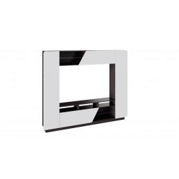 Мальта набор мебели для общей комнаты (венге цаво/белый глянец)