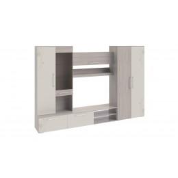 Набор мебели для общей комнаты Мишель ясень шимо/бежевый фон глянец с рисунком