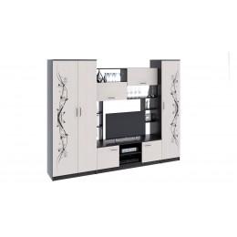 Набор мебели для общей комнаты Венера венге цаво/дуб белфорт с рисунком