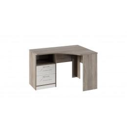 Брауни ТД-313.15.03 стол угловой с ящиками (фон бежевый с рисунком/дуб сонома трюфель)
