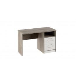 Брауни ТД-313.15.02  Стол с ящиками  (фон бежевый с рисунком/дуб сонома трюфель)