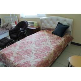 Эйми Кровать с ПМ 1600*2000 КРП-1703 бодега белая
