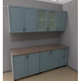 Кухня Айвори скай 2,0м