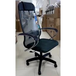 Кресло МЕТТА комплект 18 темно-серый