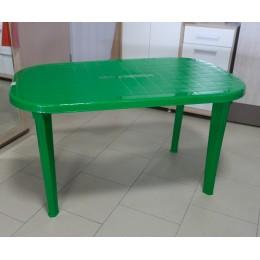 Стол овальный зеленый 1360*820*740