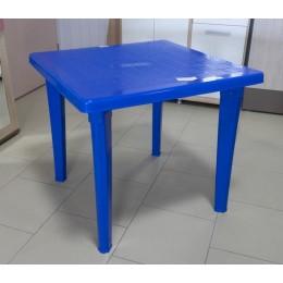 Стол квад. 85*85 синий