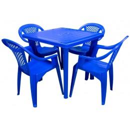Кресло Фабио синий