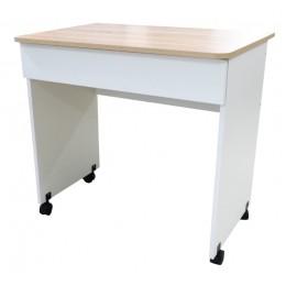 Diamond Стол компьютерный тип 2 дуб сонома/белый