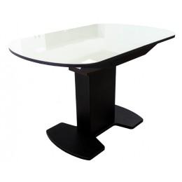 Стол обеденный раздвижной Корсика стек. 2 исп. (1200*800 (1500))  молочное
