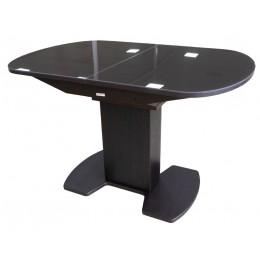 Стол обеденный раздвижной Корсика стек. 2 исп. (1200*800 (1500))  коричневое