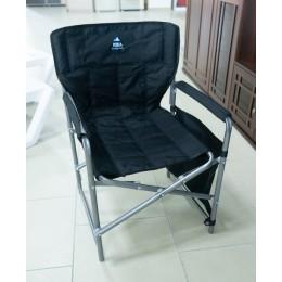 Кресло складное 1 (КС1) с карманами черный
