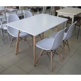 Стол обеденный белый 1200*800 SQT-203