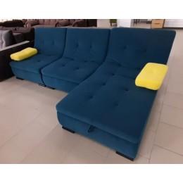 """Модульный диван """"Мадрид"""" пума-2 (отоманка с коробом) 3 кат"""