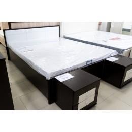 Амели 2 спальня Кровать  1600 б/о венге