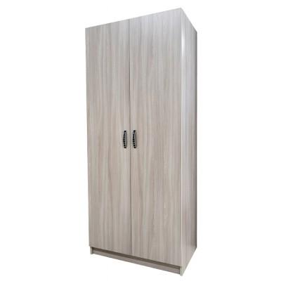 Шкаф гостиничный комбинированный ясень шимо светлый 1900*800*500  03