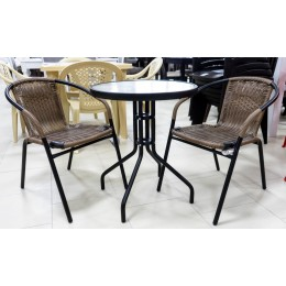 Набор мебели Марсель Мини желто-черный