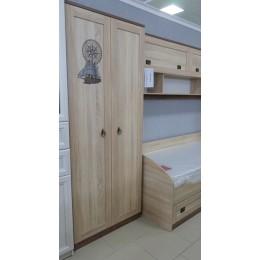 Боцман Шкаф 2-х дверный дуб сонома
