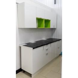 Кухня Техно нью белый 2,1м