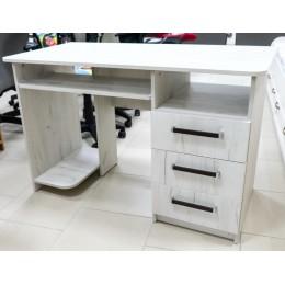 Стол компьютерный К-3 2100*600*760 дуб крафт белый