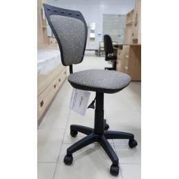Кресло детское Министайл  GTS PL55  серый в горошек