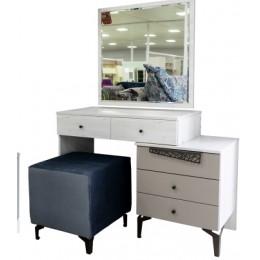 Стайл Стол туалетный с зеркалом сосна винтерберг