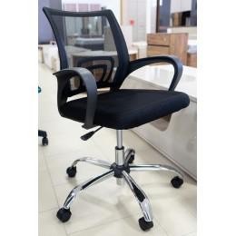 Кресло SU-CS-9P Ch черный
