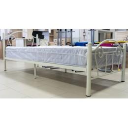 Кровать металлическая №1 80/200 бежевый
