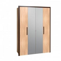 Баухаус 9 Шкаф для одежды и белья дуб сонома